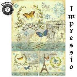 15712. Декупажная карта Impressio, плотность 45 г/м2