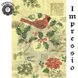 15745. Декупажная карта Impressio, плотность 45 г/м2