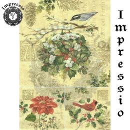 15747. Декупажная карта Impressio, плотность 45 г/м2