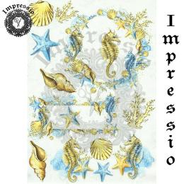 15763. Декупажная карта Impressio, плотность 45 г/м2
