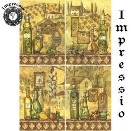 15786. Декупажная карта Impressio, плотность 45 г/м2