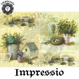 15813. Декупажная карта Impressio, плотность 45 г/м2