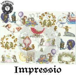 15830. Декупажная карта Impressio, плотность 45 г/м2