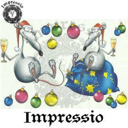 15843. Декупажная карта Impressio, плотность 45 г/м2