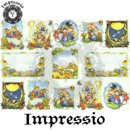 15845. Декупажная карта Impressio, плотность 45 г/м2