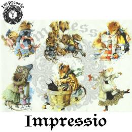 15856. Декупажная карта Impressio, плотность 45 г/м2