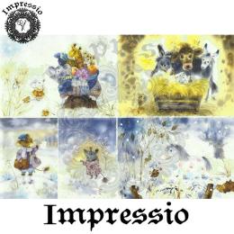 15863. Декупажная карта Impressio, плотность 45 г/м2
