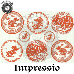 15871. Декупажная карта Impressio, плотность 45 г/м2