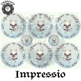 15874. Декупажная карта Impressio, плотность 45 г/м2
