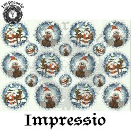15878. Декупажная карта Impressio, плотность 45 г/м2