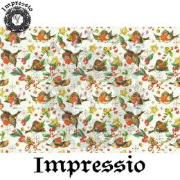 15883. Декупажная карта Impressio, плотность 45 г/м2