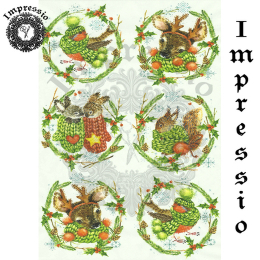 15891. Декупажная карта Impressio, плотность 45 г/м2