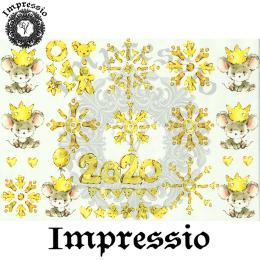 15898. Декупажная карта Impressio, плотность 45 г/м2