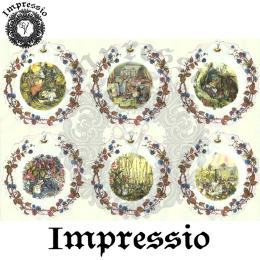 16015. Декупажная карта Impressio, плотность 45 г/м2