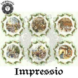 16017. Декупажная карта Impressio, плотность 45 г/м2
