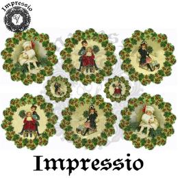 16099. Декупажная карта Impressio, плотность 45 г/м2