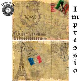 16195. Декупажная карта Impressio, плотность 45 г/м2