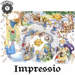 213303. Рисовая декупажная карта Impressio.  25 г/м2