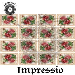213462. Рисовая декупажная карта Impressio.  25 г/м2
