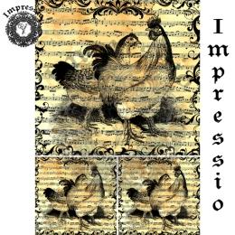 213493. Рисовая декупажная карта Impressio.  25 г/м2