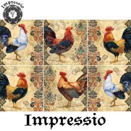 213526. Рисовая декупажная карта Impressio.  25 г/м2