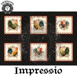 213532. Рисовая декупажная карта Impressio.  25 г/м2