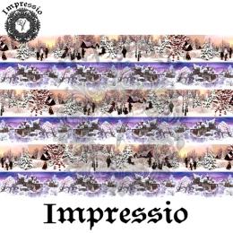 213722. Рисовая декупажная карта Impressio.  25 г/м2