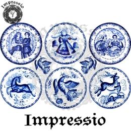 213752. Рисовая декупажная карта Impressio.  25 г/м2
