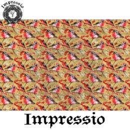213764. Рисовая декупажная карта Impressio.  25 г/м2
