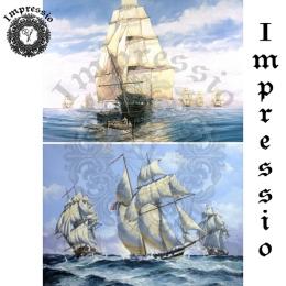 213802. Рисовая декупажная карта Impressio.  25 г/м2