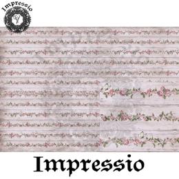 213830. Рисовая декупажная карта Impressio.  25 г/м2