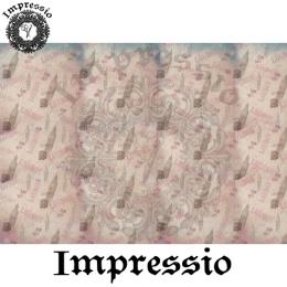 213832. Рисовая декупажная карта Impressio.  25 г/м2