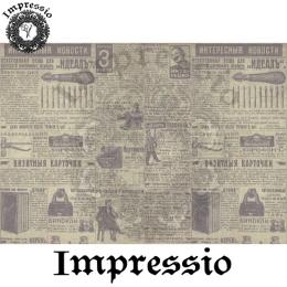 213840. Рисовая декупажная карта Impressio.  25 г/м2