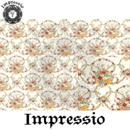 213875. Рисовая декупажная карта Impressio.  25 г/м2
