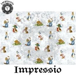 213888. Рисовая декупажная карта Impressio.  25 г/м2