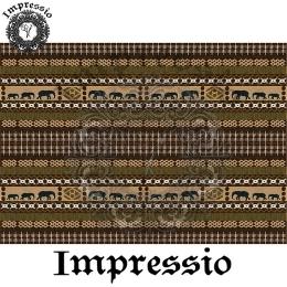 213984. Рисовая декупажная карта Impressio.  25 г/м2