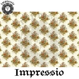 213986. Рисовая декупажная карта Impressio.  25 г/м2