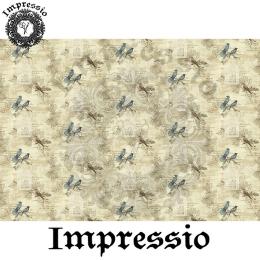 213988. Рисовая декупажная карта Impressio.  25 г/м2