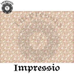 213991. Рисовая декупажная карта Impressio.  25 г/м2