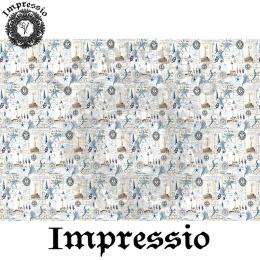 213992. Рисовая декупажная карта Impressio.  25 г/м2