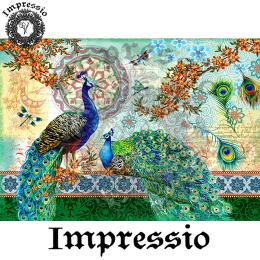 214049. Рисовая декупажная карта Impressio.  25 г/м2