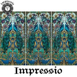 214052. Рисовая декупажная карта Impressio.  25 г/м2