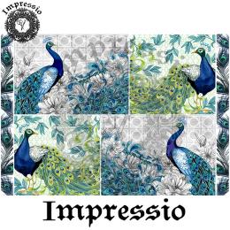 214057. Рисовая декупажная карта Impressio.  25 г/м2
