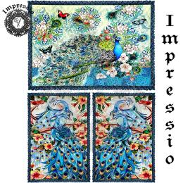 214058. Рисовая декупажная карта Impressio.  25 г/м2