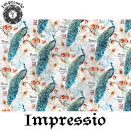 214073. Рисовая декупажная карта Impressio.  25 г/м2