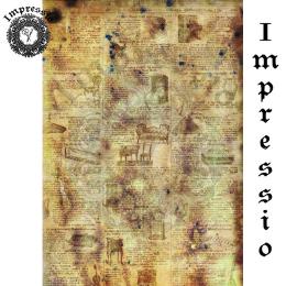 214091. Рисовая декупажная карта Impressio.  25 г/м2