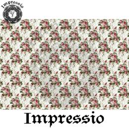 214093. Рисовая декупажная карта Impressio.  25 г/м2