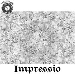214096. Рисовая декупажная карта Impressio.  25 г/м2