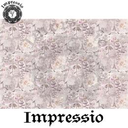 214097. Рисовая декупажная карта Impressio.  25 г/м2
