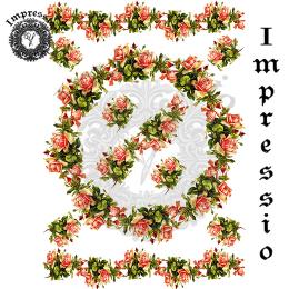 214111. Рисовая декупажная карта Impressio.  25 г/м2